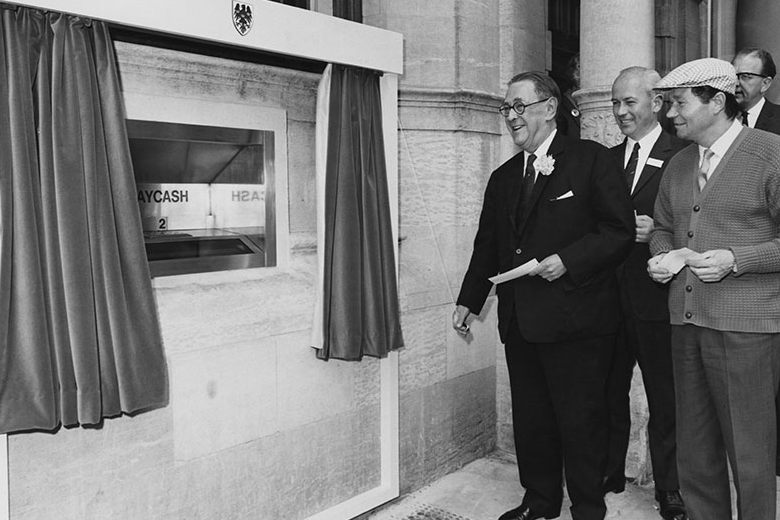 World's First ATM Enfield Borough